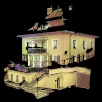 3D sken stavby