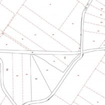 Cadastral records before restoration