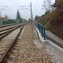 Práce na železničním koridoru